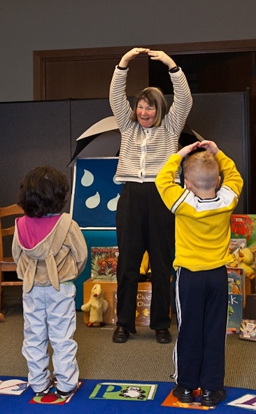 preschool storytime